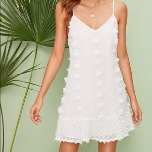 CUTE & CASUAL WHITE DRESS